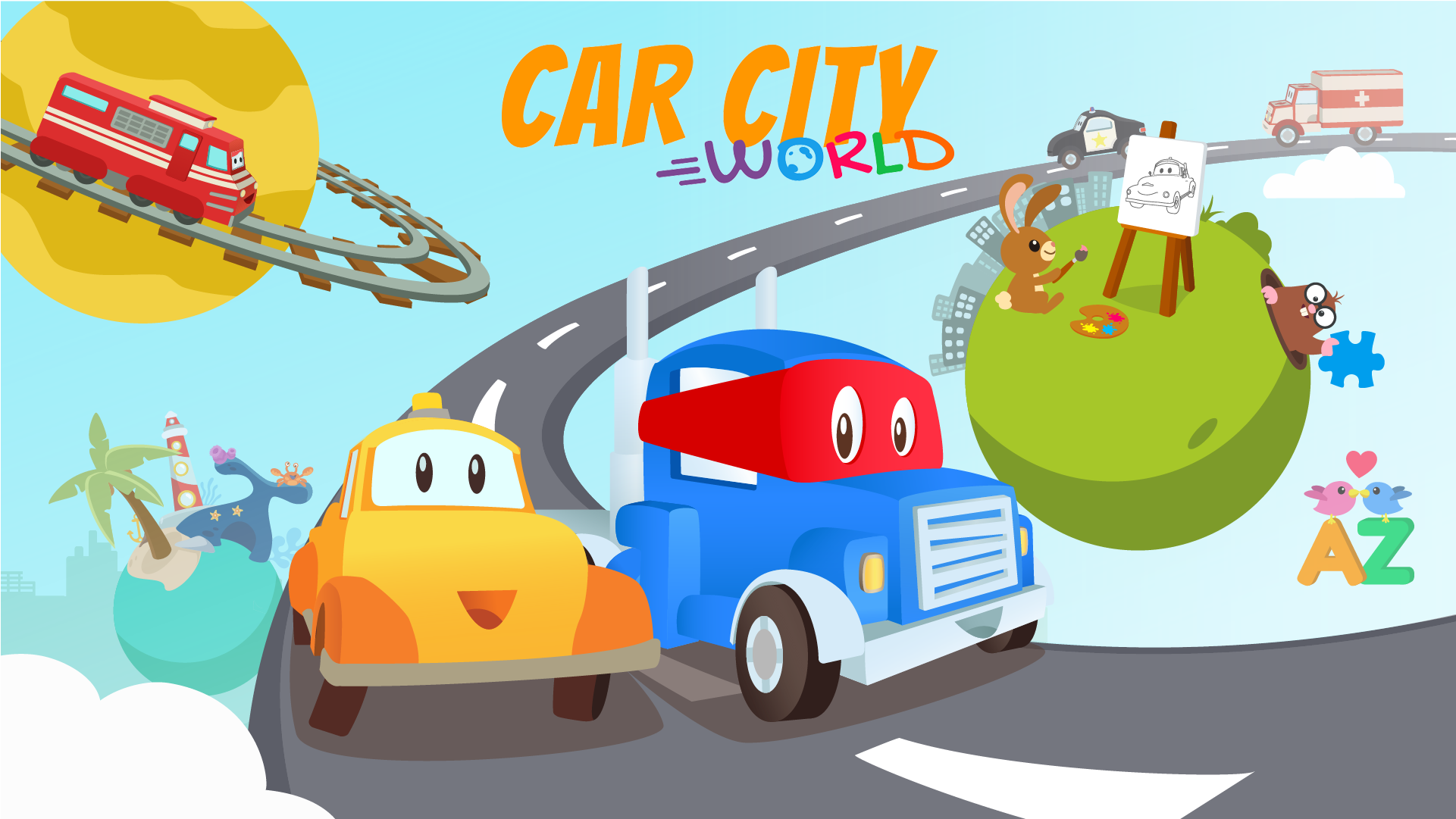 car city world