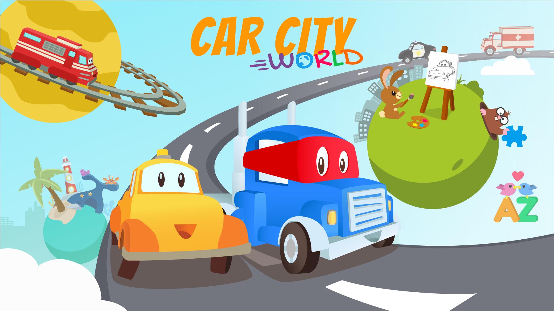 car city world