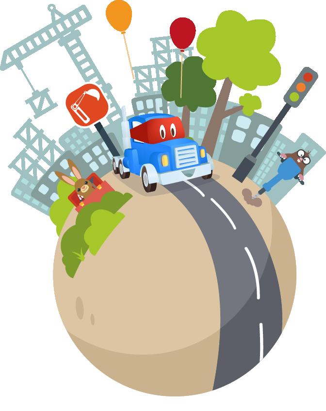 Roadworks planet